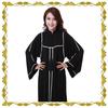MF23360 2015 EID hot sales black abaya with high quality