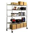 Heavy Duty móvil comercial tienda de estanterías de alambre, Nsf aprobación