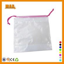 Max+ Fashion Plastic Bag Manufacturer Drawstring Plastic Bag Recycled Plastic Bag