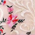 a mano tradicional de encaje bordado de tela