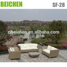 Living Resin Wicker Sofa Set Outdoor Sectionals