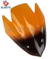 Fashion Orange Windscreen/Windshield Fits For Kawasaki Z1000 2010 2011 2012 2013 100% Guaranteed Brand New Hot Sale Good Quality