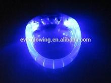 blue flash led bracelet for concerts/party HOT sell 2015