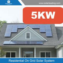 Household solar generator 5000 watt, with full solar products