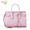 Chinese leather bag manufacturer wholesale high quality cowhide leather brand handbag women