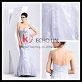 Européen de la mode robe de mariée sur mesure robe de mariée blanche briquet. robes de demoiselle d'honneur à bas prix