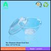 plastic diamond shape fruit container/Transparent Disposable Fruit Salad Packaging