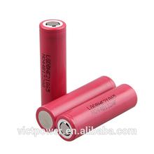 18650 battery ICR18650HE2 2500mah 20A high drian li-ion cell charge LG chem