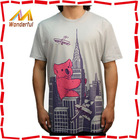 Promotional cheap wholesale t shirt solid 100% combed cotton wholesale t shirt solid hotsale