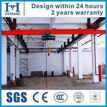 LX Type single suspension beam electric crane pensile crane suspended crane