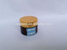 30ml amber glass cream jars