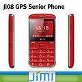 Jimi telefono cellulare tastiera grande per i bambini telefono pera per la vendita gps tracker con sos allarme piattaforma ji08