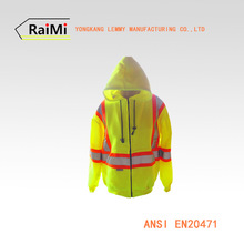 reflective safety hoody jacket