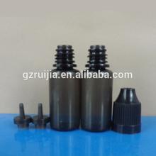 10ml PET black bottle e liquid black dropper bottle plastic pet bottle