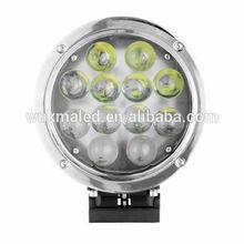 "7"" 60W LED driving light Flood fog light offroad 4WD ATV SUV Super bright 60w led work light"