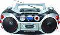 Portátil novo boombox cassete cd player com rádio mp3 usb/sd