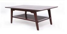 European minimalist modern small solid wood coffee table Nordic Quartet simple rectangular wooden tea table tea sets AMT030