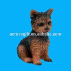 Rottweiler Mini Resin Hand Painted Dog Hand Painted Figurine Statue