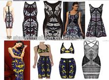 Wholesale multi way party dress rayon dress hot sell