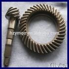 helical bevel gear in minicar rear drive axle