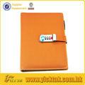 bloqueio codificado couro diário pessoal