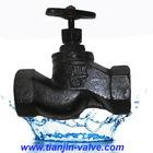 GOST standard cast iron steam bellow seal globe valve in dubai uae Tianjin supply