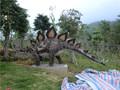 Vg1409-robotic venda quente tamanho natural de fibra de vidro do dinossauro