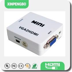 Reliable Supplier S-Video VGA RCA to HDMI Converter VGA AV to HDMI Adapter