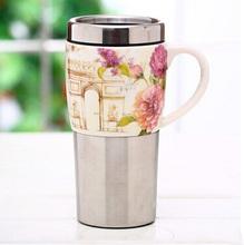 2014 new design korea souvenirs mug ,porcelain coffee mug