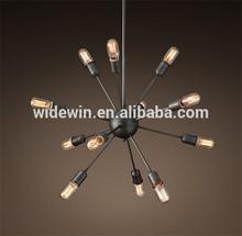 Luxury European Style Modern Ball Crystal Chandelier Pendant Lights