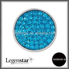 Legenstar 2014 wholesale Sugar interchangeable snap press button clay fit fashion jewelry NCB0340-10