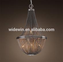 Fancy pendant light crystal drop pendant lamp