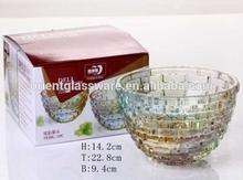 colorful glass bowls high quantity glass bowl decorative colored glass bowl