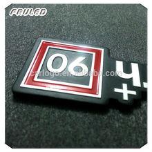 custom metal car badge logo