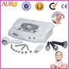 Professional 4 in 1 microdermabrasion Ultrasonic machine/ Ultrasonic skin scrubber/hot cold hammer facial spa equipment Au-6801