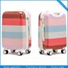 2014 new fashion ABS +PC travel bag luggage