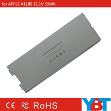 High quality 11.1V 55Wh for apple rechargeable battery a1185