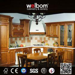 Advanced Technical American Kitchen Wood Cupboard Design