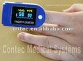 Contc cor oled da ponta do dedo oxímetro de pulso, spo2 monitor com ce& certificado do fda