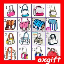 OXGIFT Encai New Fashion 3D Cartoon Comic Women's Handbags/2D Shoulder Bag/Stocked Ladies 3D Bag
