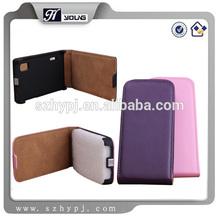 Armor slim shell flip fashion style pu case for Nokia Lumia 521