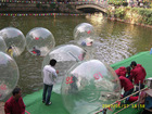 advertising inflatable water walking sphere for park/PVC&TPU inflatable water game
