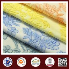 Feimei Knitting 100% Polyester Emboss Fabric Emboss Scuba Fabric