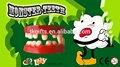 dentes de plástico brinquedo para brincar