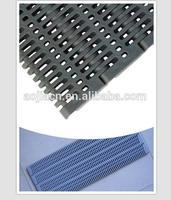 Flush grid ISO standard interlock conveyor modular belt