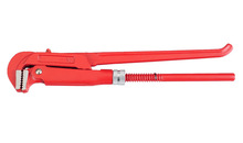 90 degree double handle pipe wrench and bent nose pipe wrench