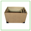 2014 newest with high quality canvas fabric storage basket