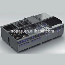 Luxuary heavy duty Commercial Kitchen Equipment % heavy equipment