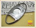 Cigar scissors, metal plating, aluminum alloy cigar scissors