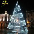 الحديقة الصينية الديكور شجرة عيد الميلاد مع أضواء